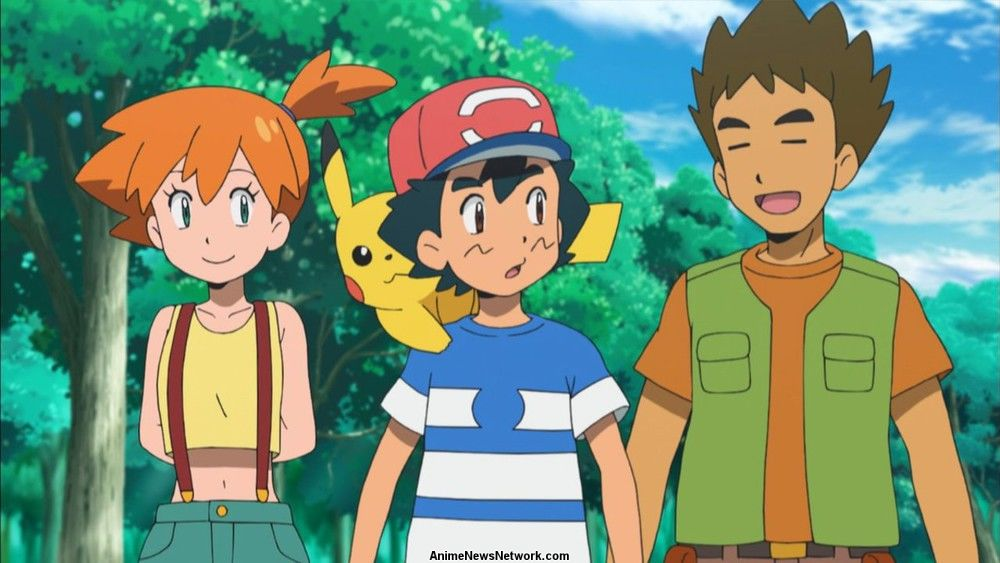 Brock Misty Return To Pokemon Anime After 15 Years Interest