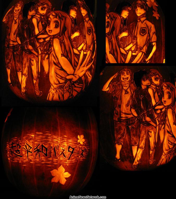 Annual Pumpkin Carving Contest 2012 10 12 Anime News