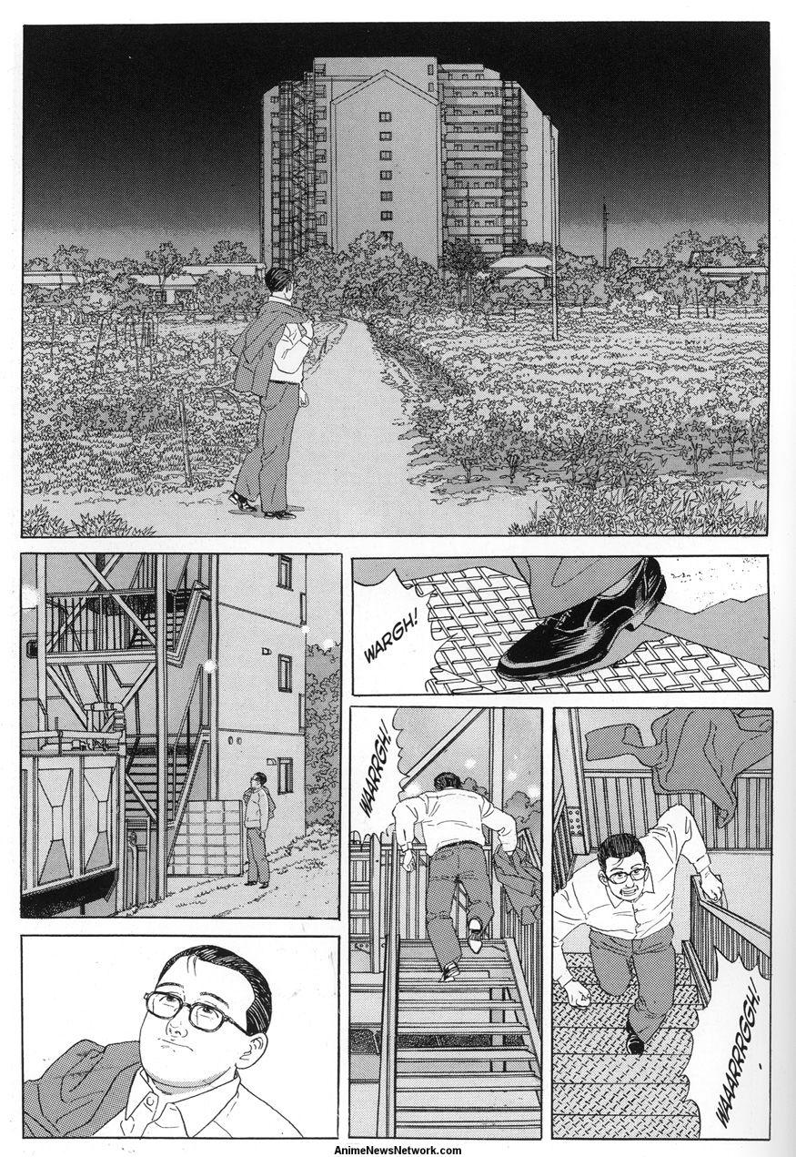 Jason Thompson S House Of 1000 Manga Walking Man Anime