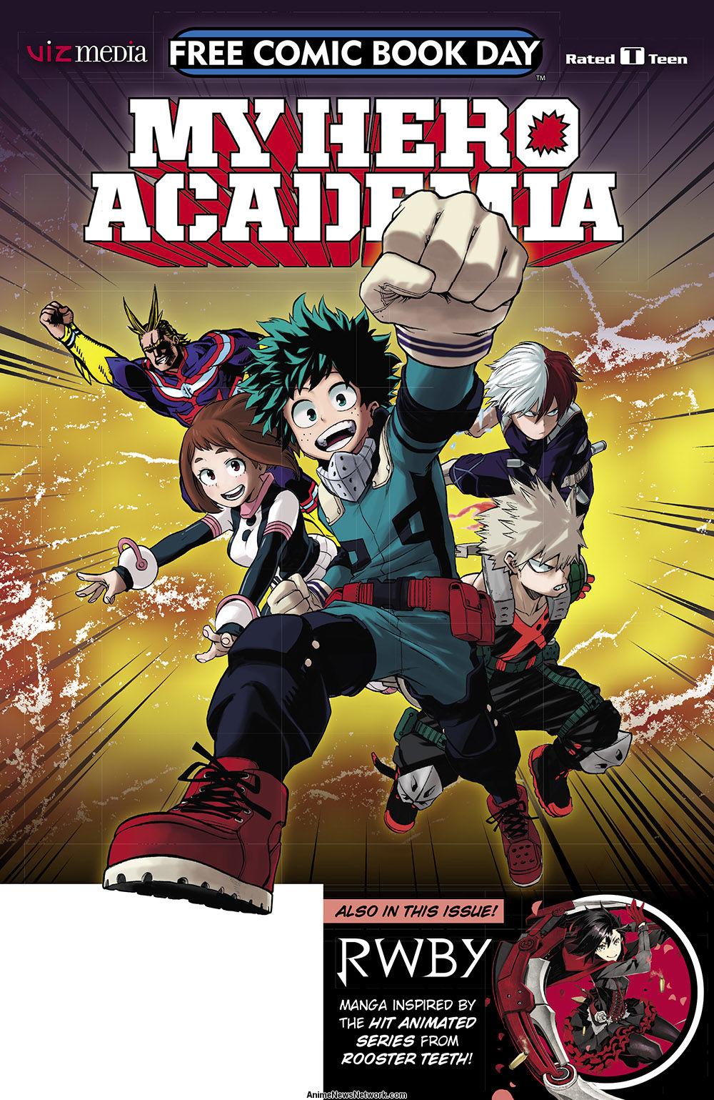 My Hero Academia, Pokemon, Transformers, Power Rangers ...