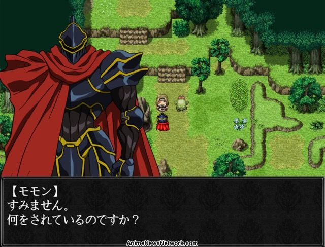 Overlord Anime Gets Free RPG Developed With RPG Maker MV