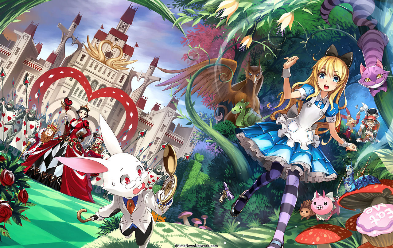 Seven Seas to Release Illustrated Lewis Carrol's Alice in ...