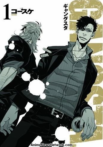 Gangsta. Action Manga Gets Anime (Updated)