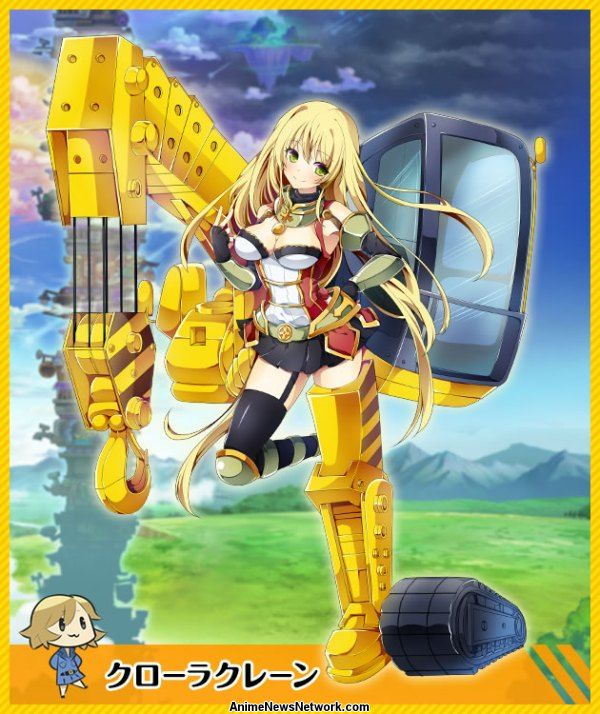 kantai collection u0026 39 s dmm turns construction vehicles  tools into girls for next game