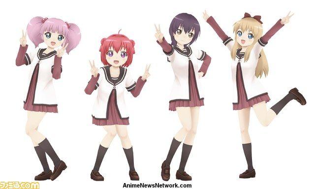 Yuruyuri Nyaruko Characters Star In Miracle Girls Festival