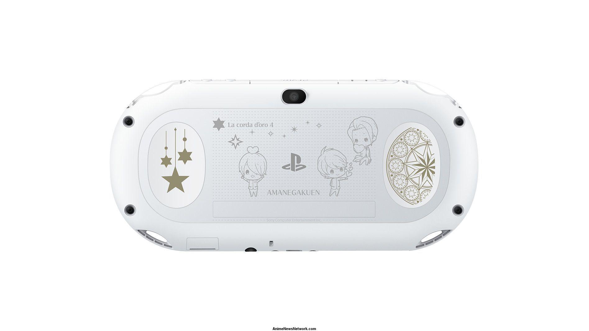 La corda d 39 oro 4 gets limited edition ps vita consoles - Ps vita test de la console ...
