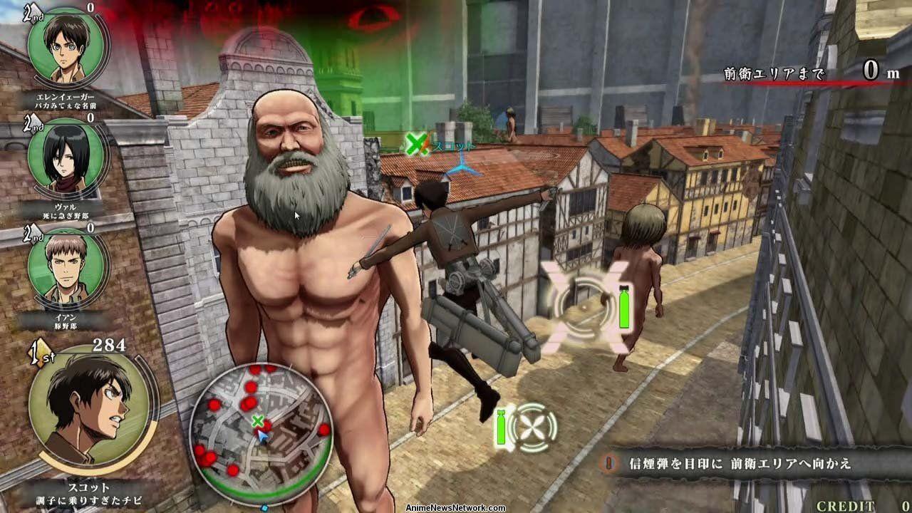 Capcom's Attack on Titan Arcade Game Features Omni ...