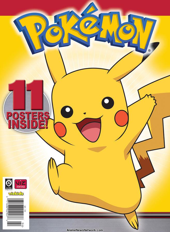 image regarding Pokemon Binder Cover Printable known as Viz Media Announces the Pokémon Poster Range - Anime