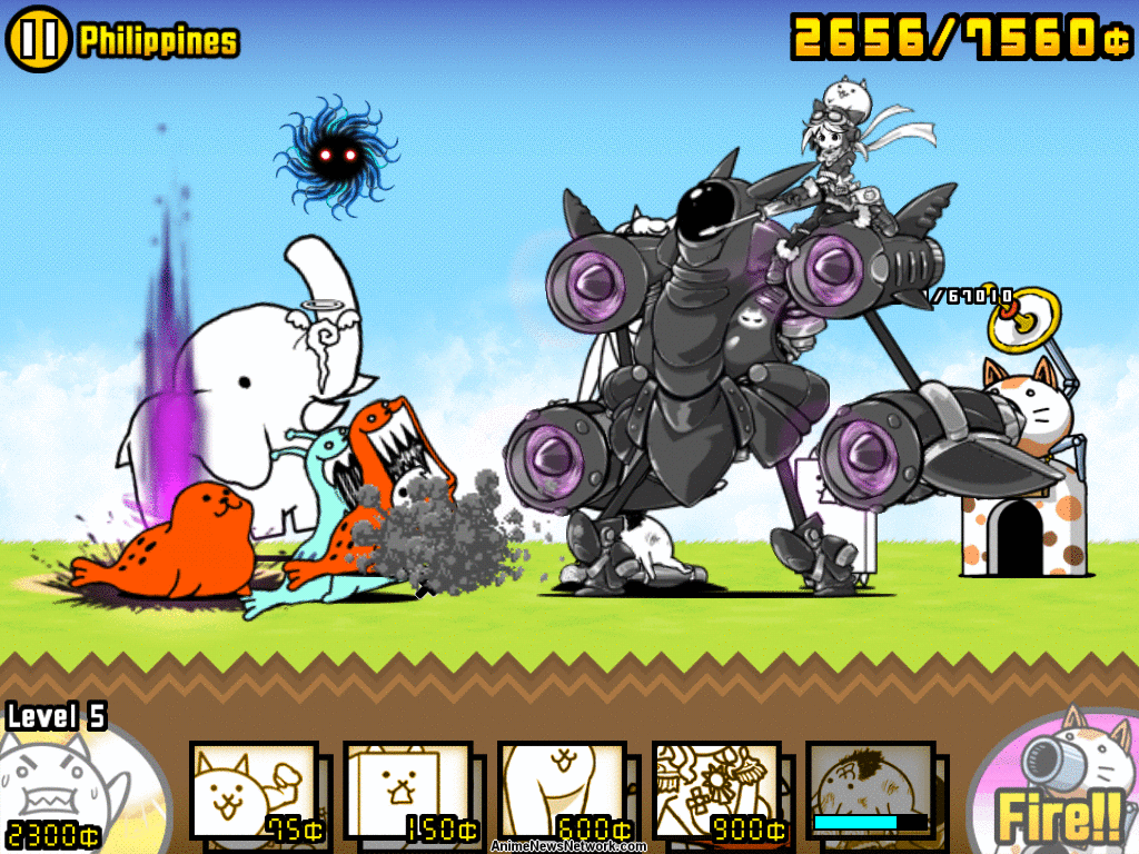 The Battle Cats Receives V30 Update Into The Future From Ponos