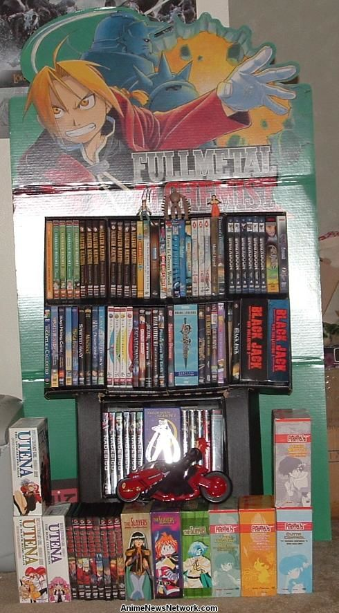 Not To Be Outshone By The Awesome FMA Bookshelf Our Second Entry Is From Abdullah Al Ghanim Who Hails State Of Qatar His Two Anime Shelves