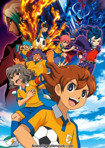 Inazuma Eleven TV ANIMATION All Character encyclopedia art book #3