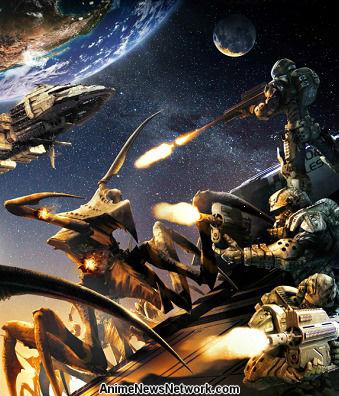 Starship Troopers Invasion Movie Anime News Network