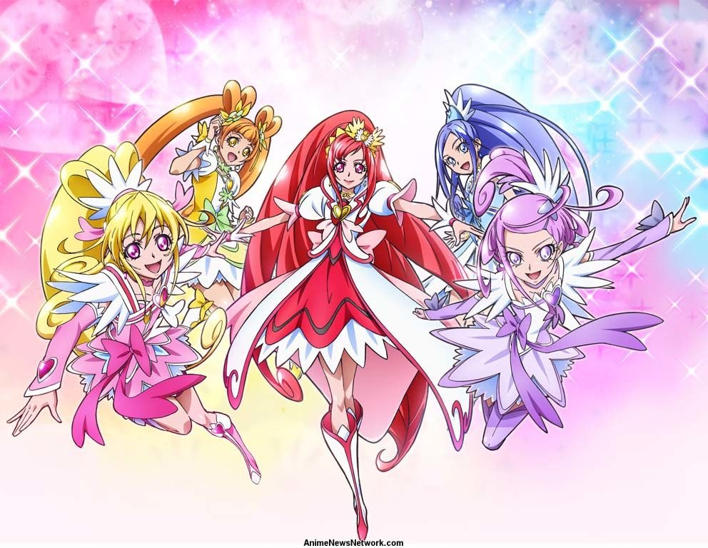 glitter force doki doki tv anime news network