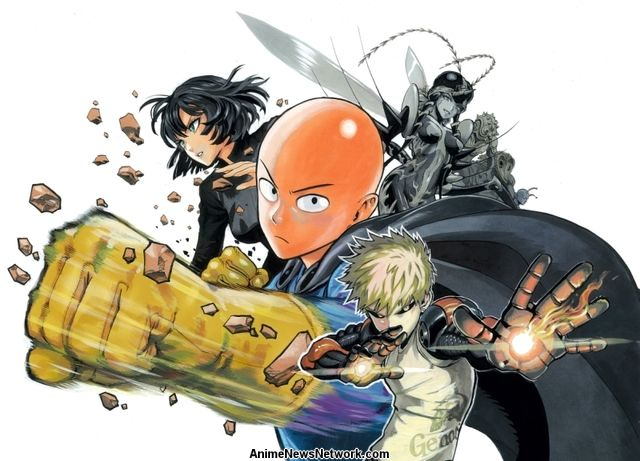 One Punch Man Manga Anime News Network