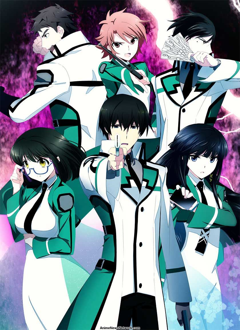 The irregular at magic high school tv