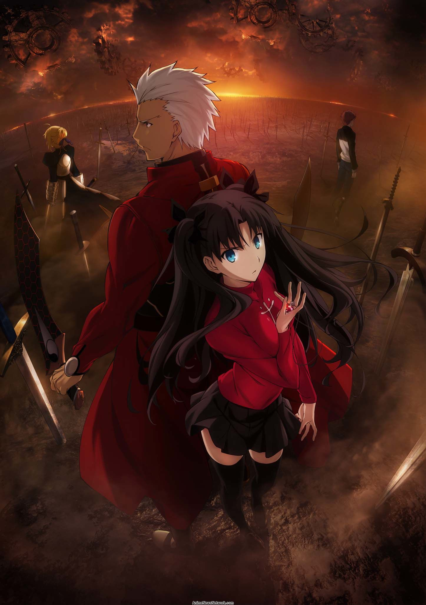 Fate Stay Night Unlimited Blade Works Tv Anime News Network