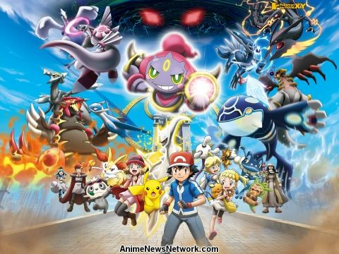 Pokemon The Movie Hoopa And The Clash Of Ages Anime News Network