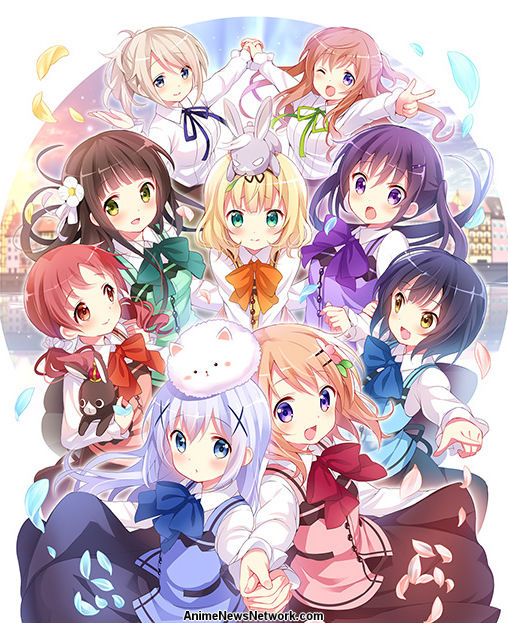 is the order a rabbit tv 2 anime news network