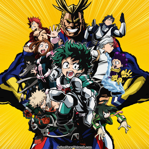 My Hero Academia Tv Anime News Network