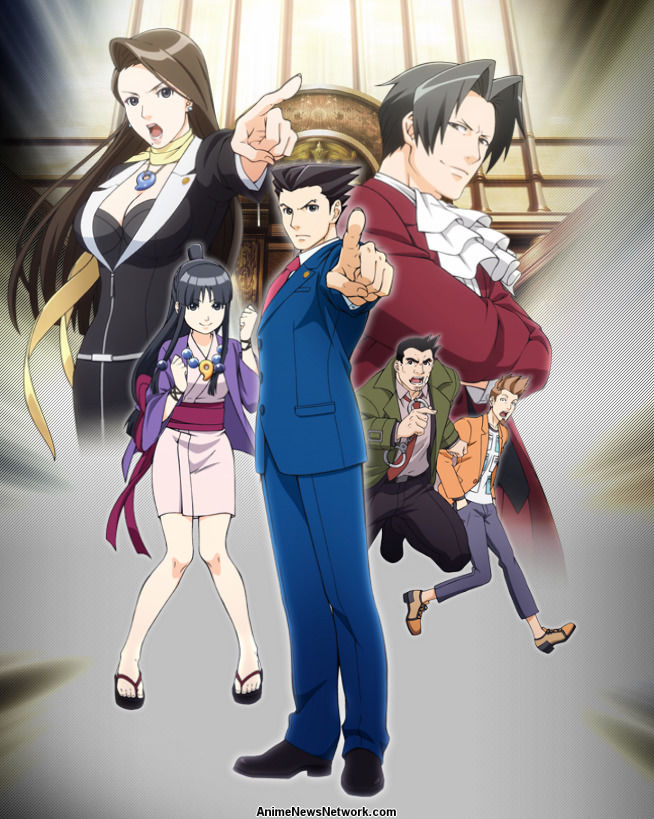 Ace Attorney Tv Anime News Network