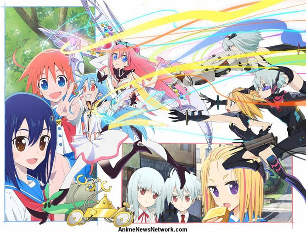 Flip Flappers Tv Anime News Network