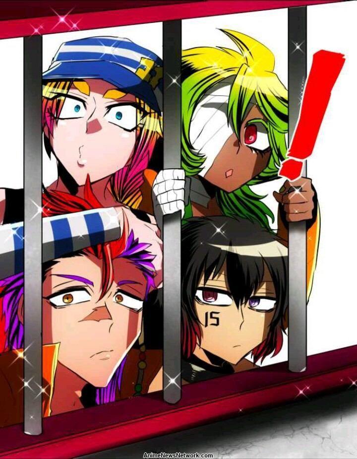 Nanbaka Manga Anime News Network