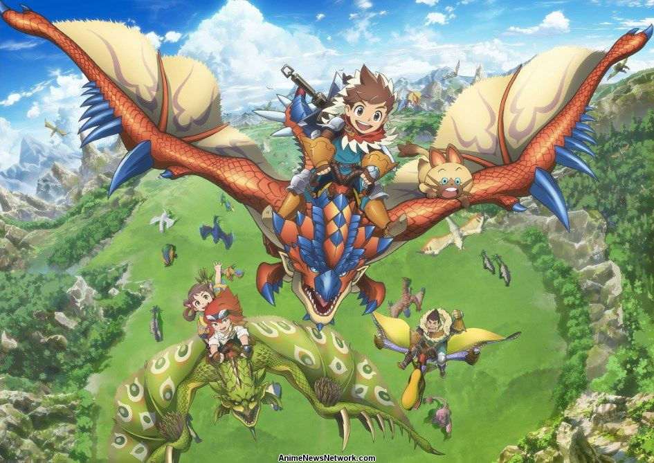 Monster Hunter Stories Ride On Tv Anime News Network