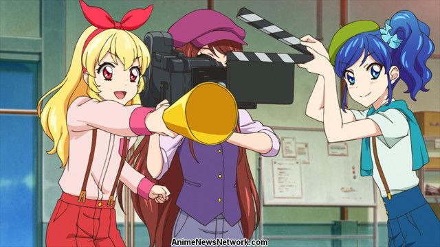 Aikatsu Nerawareta Mahō No Aikatsu Card Movie Anime News