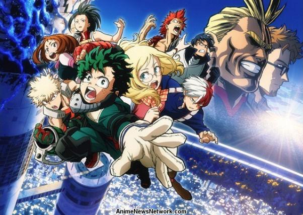 My Hero Academia Two Heroes Movie Anime News Network