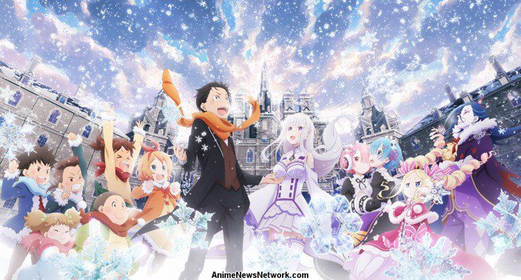 Re Zero Starting Life In Another World Memory Snow Oav Anime News Network
