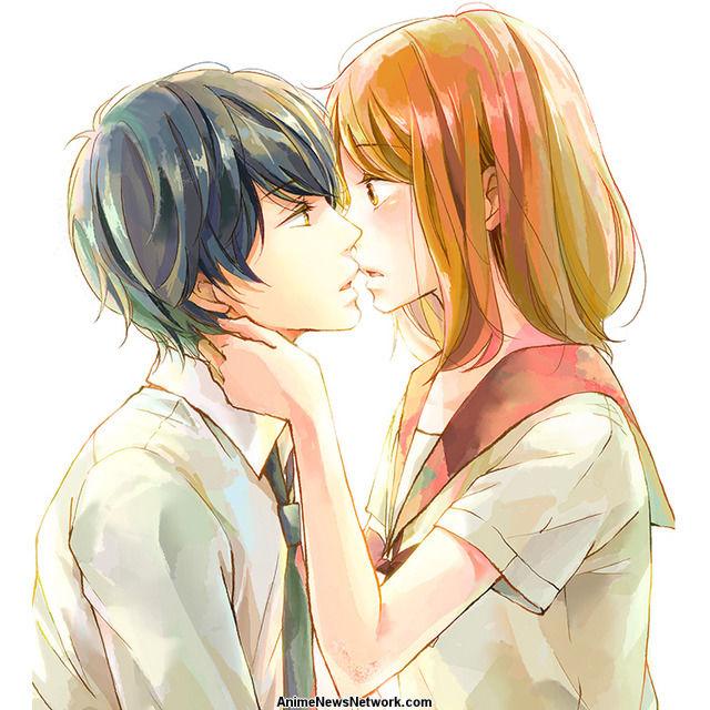 A Kiss For Real Manga Anime News Network