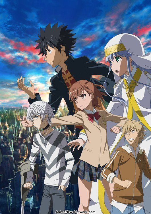 A Certain Magical Index Iii Tv Anime News Network