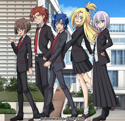 Cardfight!! Vanguard: High School Arc Cont  (TV) - Anime