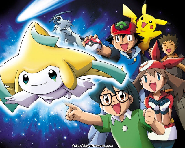 Pokemon Jirachi Wish Maker Movie Anime News Network