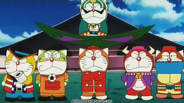 The Doraemons: Goal! Goal! Goal!! (movie) - Anime News Network