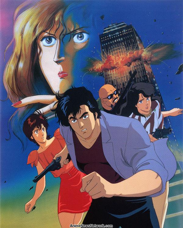 City Hunter Bay City Wars Movie Anime News Network