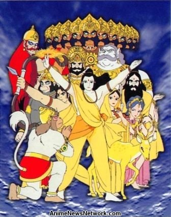 The Prince of Light - The Legend of Ramayana (movie) - Anime
