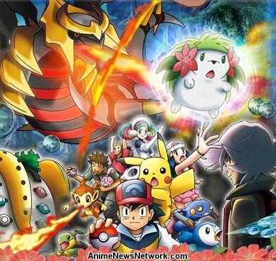 Pokemon Giratina The Sky Warrior Movie Anime News Network