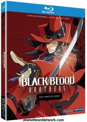 Black Blood Brothers Novel Complete Set Kouhei Azano