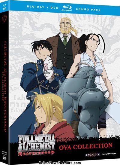 Fullmetal Alchemist: Brotherhood OVA Blu-Ray + DVD ...