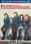 The Disappearance of Haruhi Suzumiya Blu-Ray + DVD