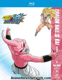 Dragon Ball Z Kai: The Final Chapters Blu-Ray Part Three