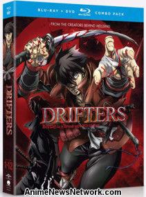 revisión  2 de enero de 2018  Drifters Complete Series  Blu-ray + DVD