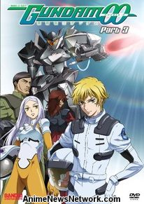 Gundam 00 DVD Season 1 Part 3