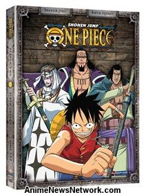 One Piece DVD Season 2 Part 6