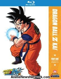 Dragon Ball Z Kai Part 1 Blu-Ray