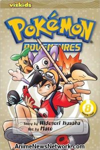 Pokemon Adventures GN 8
