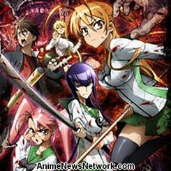 Highschool of the Dead episodes 1-6