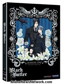 Black Butler DVD Season 1 Part 2