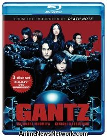 Gantz Blu-Ray/DVD (live-action)